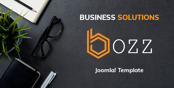 Bozz — Corporate and Business Responsive Joomla Template