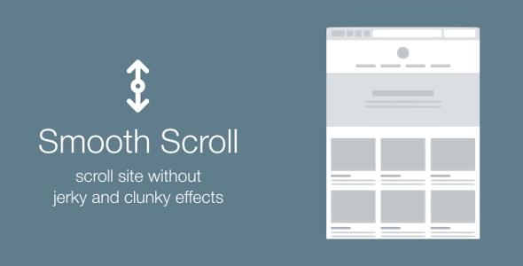 Smooth Scroll — scroll site without jerky and clunky effects
